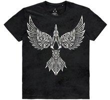 Tričko Assassins Creed: Valhalla - Raven (XXL) - TS610717ASC-2XL