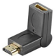 PremiumCord HDMI adapter 19pin F - 19pin M