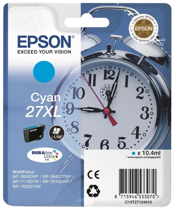 Epson C13T27124010, cyan