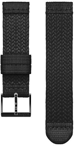 Suunto Athletic 5 pletený řemínek velikost S 20mm, černý