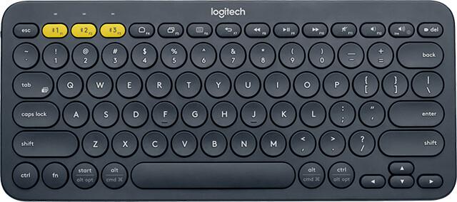 Logitech K380, černá, US