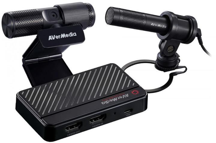 AVerMedia Live Streamer BO311S Streaming Kit