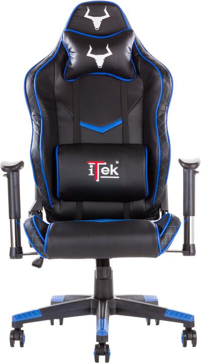 iTek TAURUS E1, černá/modrá
