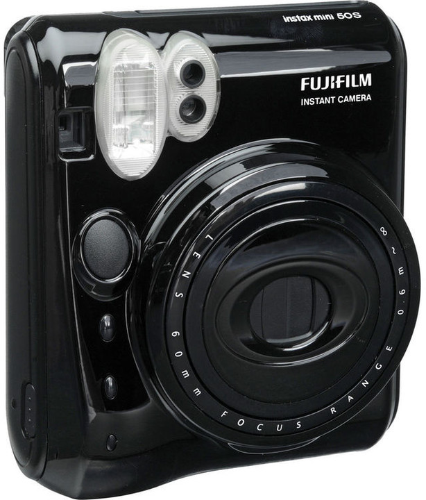 Fujifilm Instax 50s mini, černá