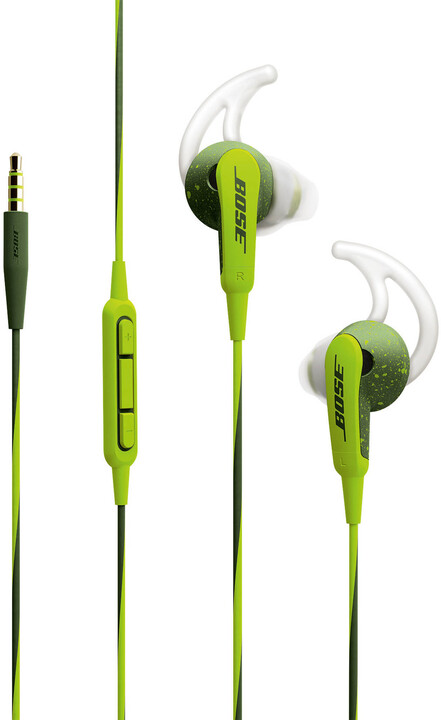 Bose SoundSport, Apple, zelená