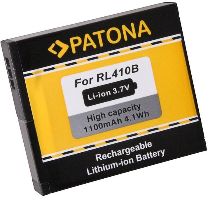 Patona baterie pro kameru Rollei Actioncam 230/400 1100mAh Li-Ion