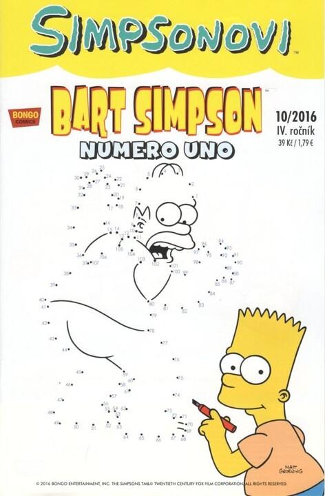 Komiks Bart Simpson: Numero uno, 10/2016