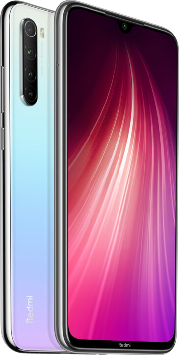 Xiaomi Redmi Note 8T, 4GB/64GB, Moonlight White