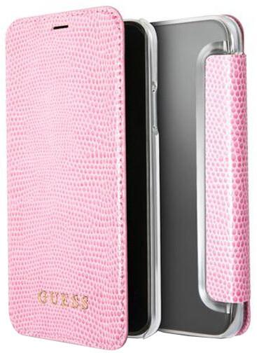Guess Python Book Pouzdro Pink pro iPhone X