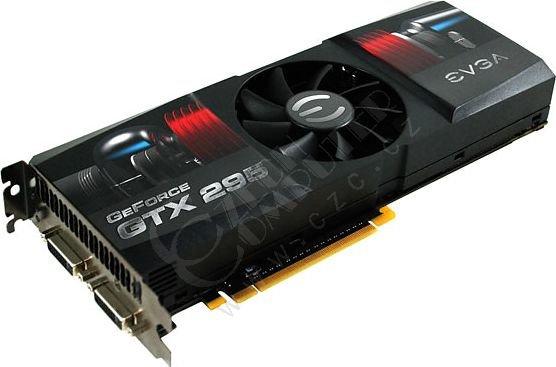 EVGA GeForce GTX 295 CO-OP Edition (single PCB) 1.8GB, PCI-E
