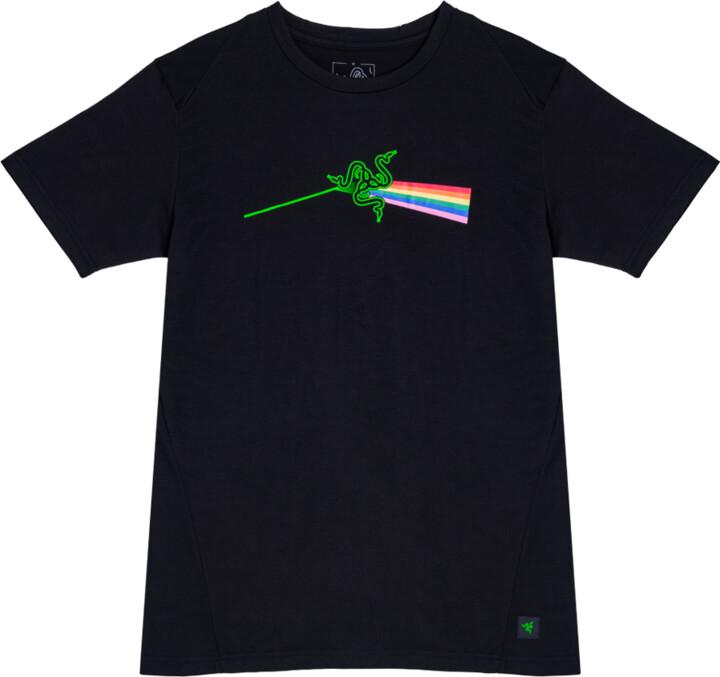 Tričko Razer Elite Dark Side, černé (XL)