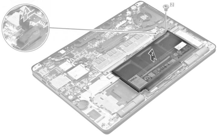 Dell baterie, 3-cell, 37Wh LI-ON pro Latitude E7270/E7470