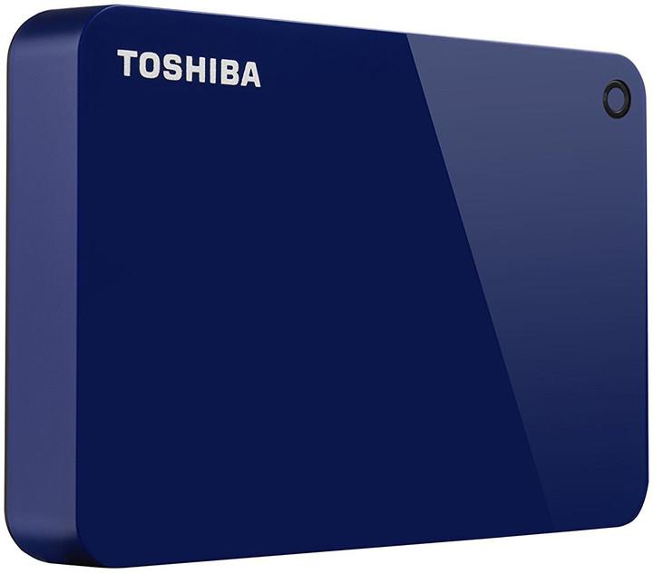 Toshiba Canvio Advance - 3TB, modrá