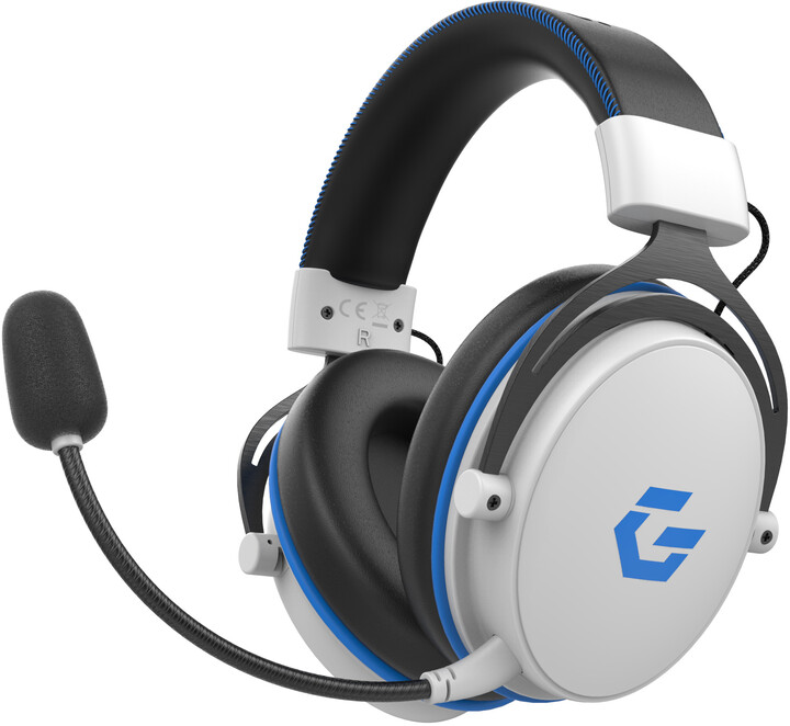 CZC.Gaming Seraphim, herní sluchátka, bílá/černá