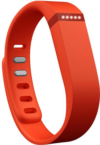 Fitbit příslušenství pro Flex náhradní pásek - Tangerine - Small