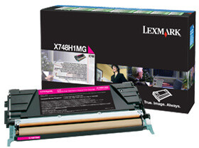 Lexmark X748H1MG, magenta