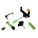 GoGEN 2 Selfie tyč teleskopická, bluetooth, zelená