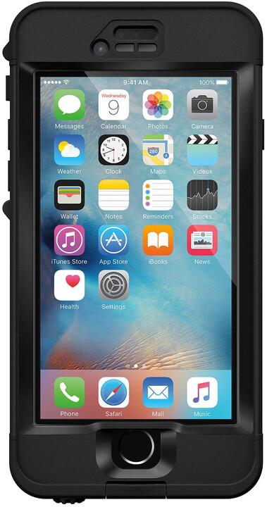 LifeProof Nüüd pouzdro pro iPhone 6s Plus, odolné, černá