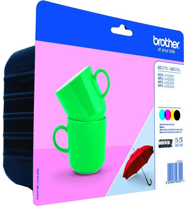 Brother LC-227VALBP, multipack