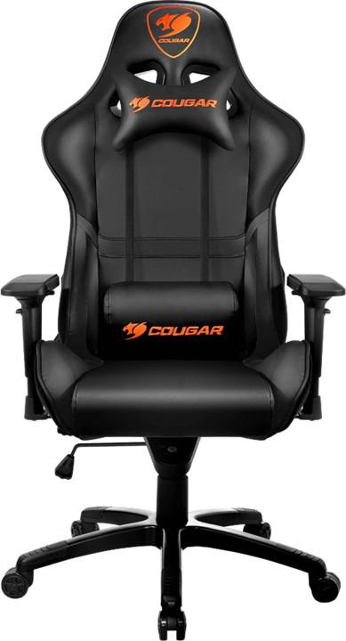 Cougar Armor, černá