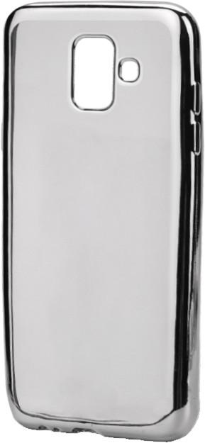 EPICO Pružný plastový kryt pro Samsung Galaxy J6 (2018) BRIGHT- stříbrný
