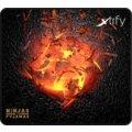 Xtrfy XTP1 Ninjas in Pyjamas Volcano Edition, L, látková