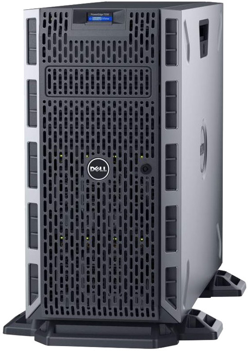 Dell PowerEdge T330 TW, E3-1220v6/8GB/2x1TB/1x 495W/Bez OS