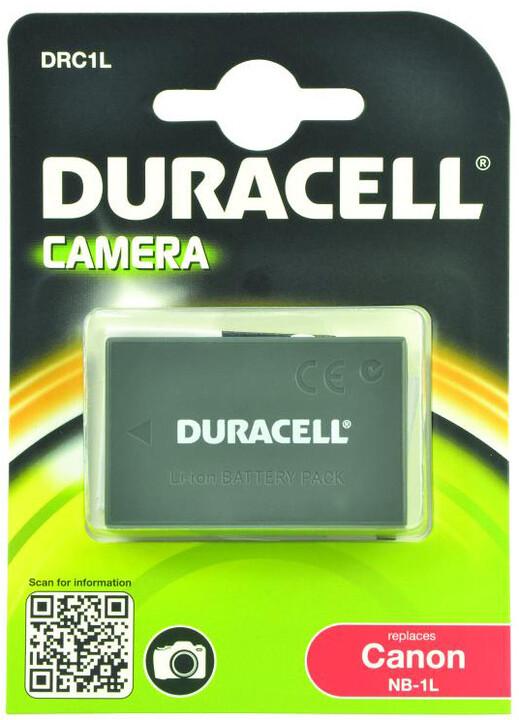 Duracell baterie alternativní pro Canon NB-1L