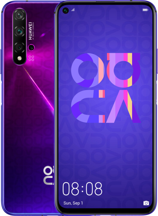Huawei Nova 5T, 6GB/128GB, Purple
