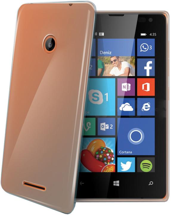 CELLY Gelskin pouzdro pro Microsoft Lumia 435, bezbarvé