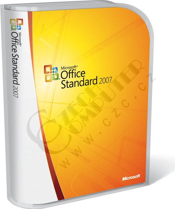 Microsoft Office 2007 CZ CD
