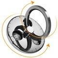 Mcdodo 360 Degree Rotating Fidget Spinner Ring Silver