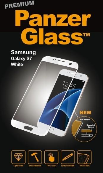 PanzerGlass Premium pro Samsung Galaxy S7, bílé