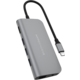 HyperDrive POWER 9 v 1 USB-C Hub, šedá