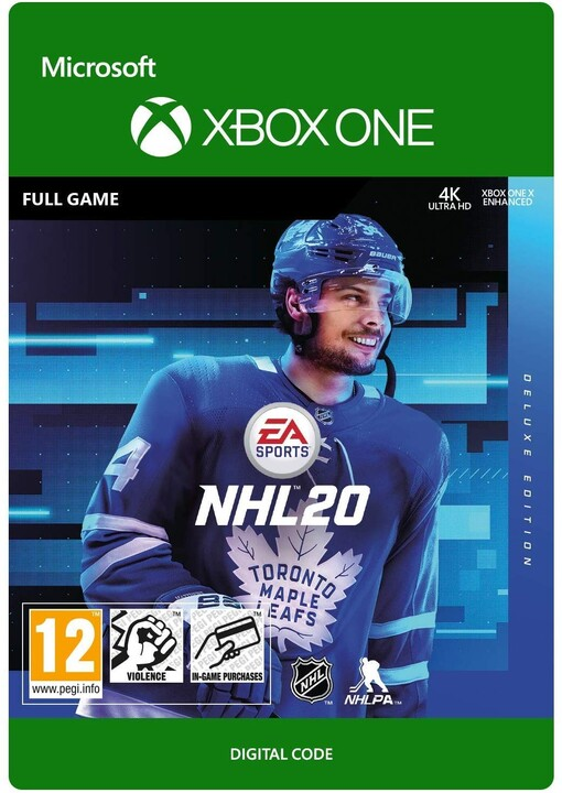 NHL 20 - Deluxe Edition (Xbox ONE) - elektronicky