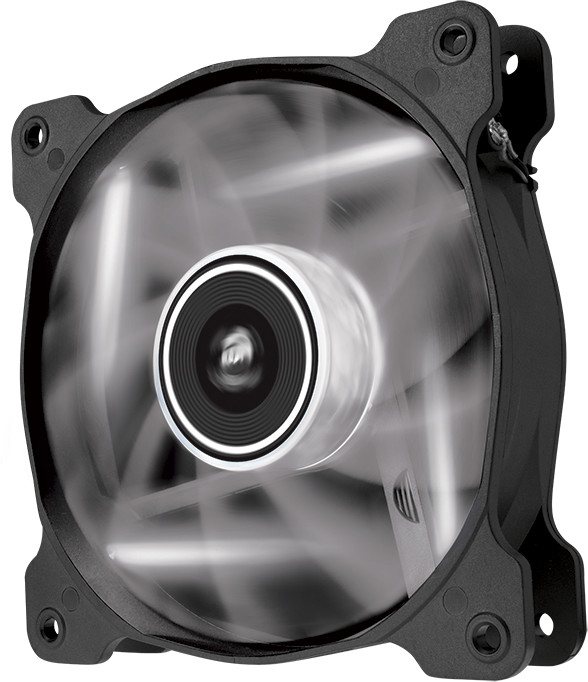 Corsair Air Series AF120 Quiet LED White Edition, 120mm