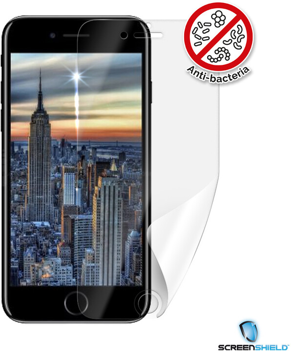 Screenshield ochranná fólie Anti-Bacteria pro iPhone 8