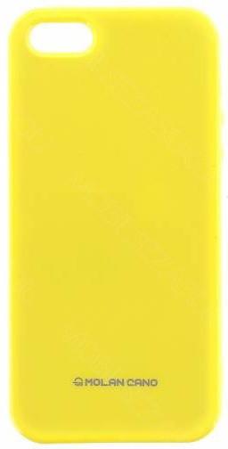 Molan Cano Jelly TPU Pouzdro pro Huawei Mate 10 Lite, žlutá