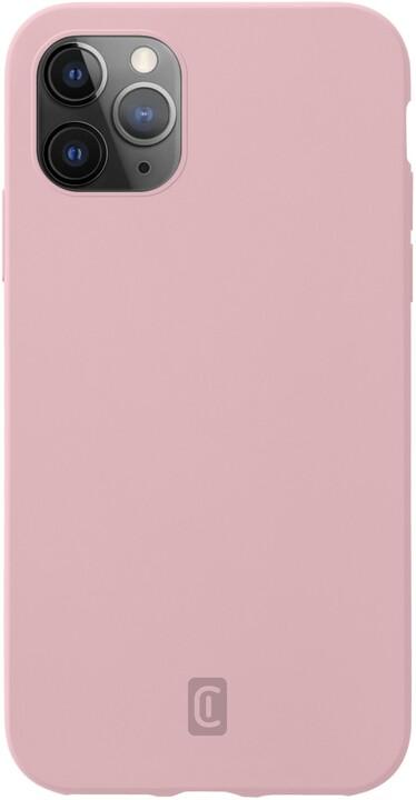CellularLine silikonový kryt Sensation pro Apple iPhone 12 Pro Max, růžová