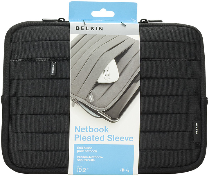 Belkin Netbook Lifestyle Sleeve Pleat, černá