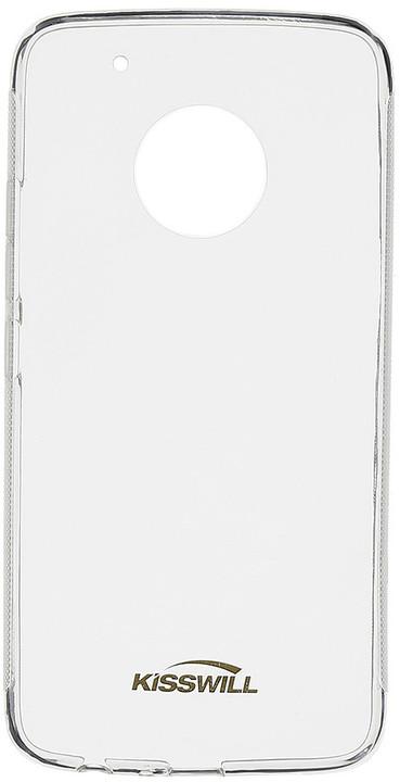 Kisswill TPU pouzdro pro Lenovo Moto G5 Plus, transparentní
