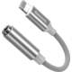 BASEUS redukce Cafule Series, Lightning - Jack 3.5mm, M/F, bílá