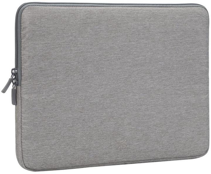 """RivaCase Suzuka 7703 pouzdro na notebook - sleeve 13.3"""", šedá"""