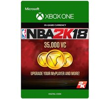 NBA 2K18 - 35000 VC (Xbox ONE) - elektronicky