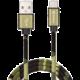 Sandberg USB-C kabel, 1 m, Camouflage