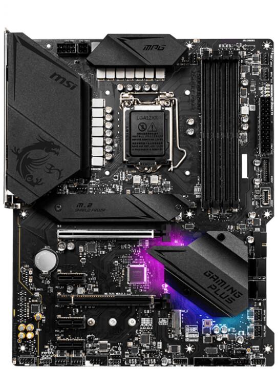 MSI MPG Z490 GAMING PLUS - Intel Z490