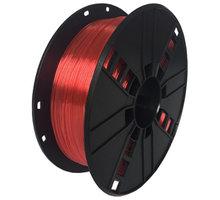 Gembird tisková struna (filament), PETG, 1,75mm, 1kg, červená - 3DP-PETG1.75-01-R