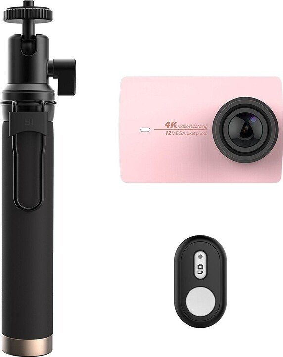 Yi 4K Action Camera 2 Travel Edition, rose gold