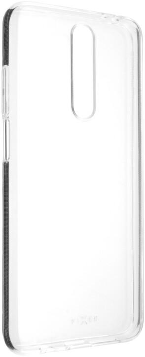 FIXED TPU gelové pouzdro pro Xiaomi Poco X2, čirá