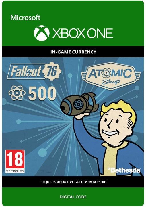 Fallout 76 - 500 Atoms (Xbox ONE) - elektronicky